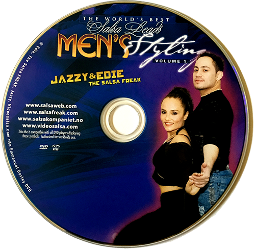 Men's Styling Advanced Salsa with Jazzy of Norway Instructional DVD