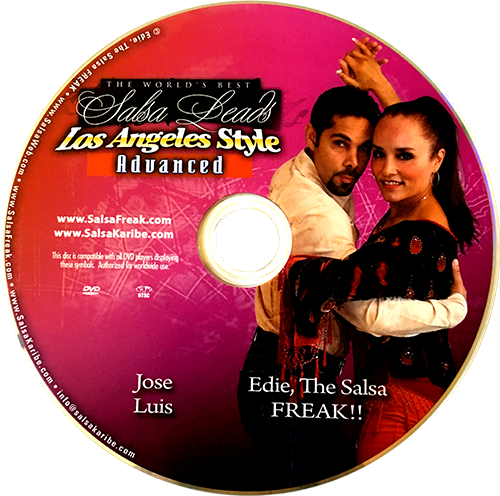 Advanced LA Style Leading Techniques and Secrets with Jose Luis Instructional DVD
