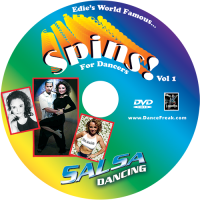 Edie's World Famous Spins for Salsa Dancers DVD