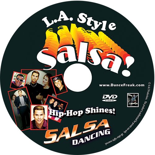 Hip-Hop Shines Salsa Instructional DVD