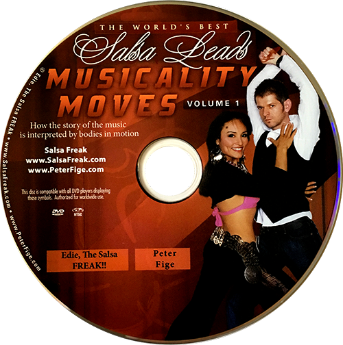 Musicality Moves with Peter Fige Instructional DVD