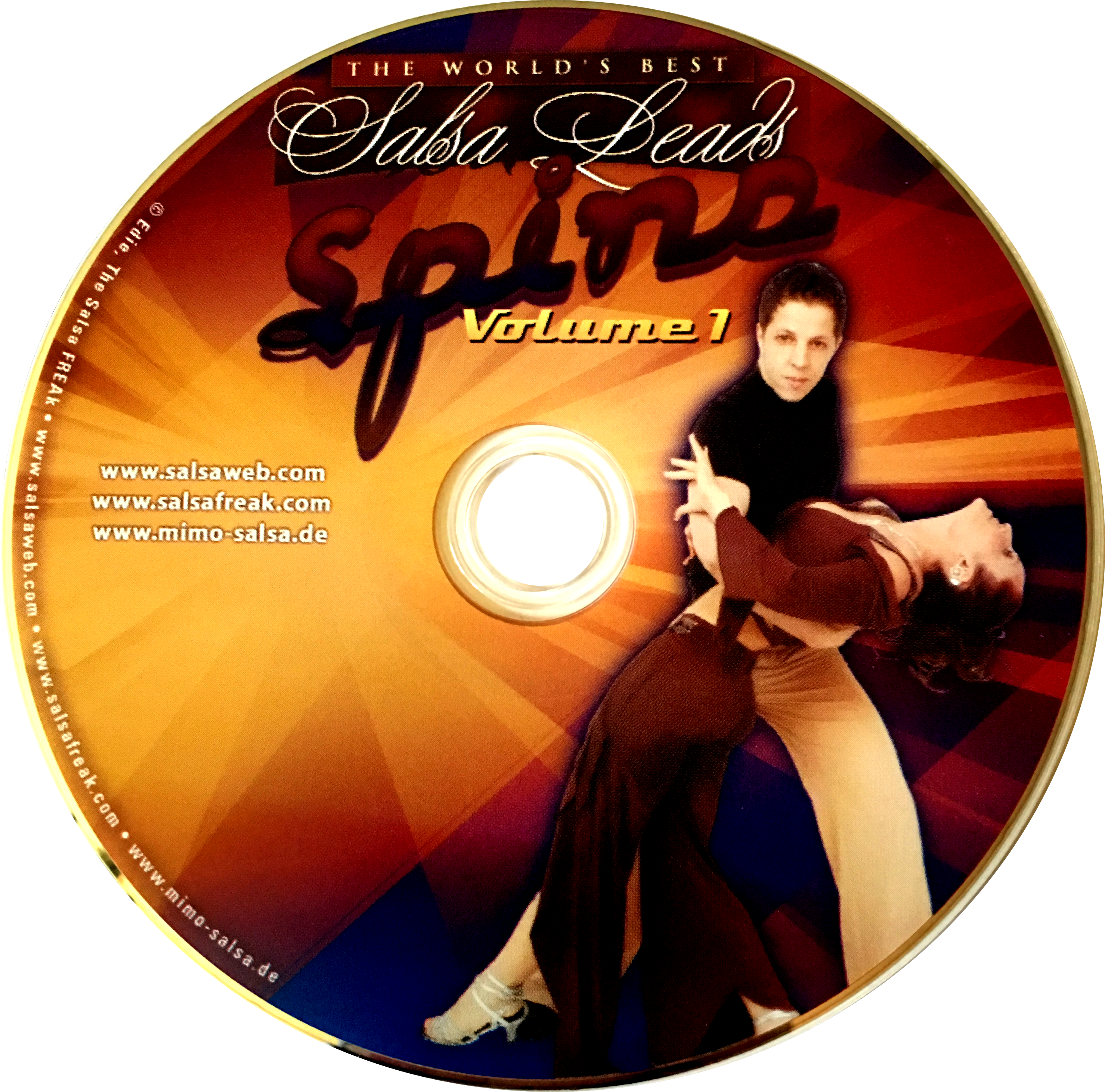 Spins Turn Patterns and Combinations with Mimo of Germany Instructional DVD