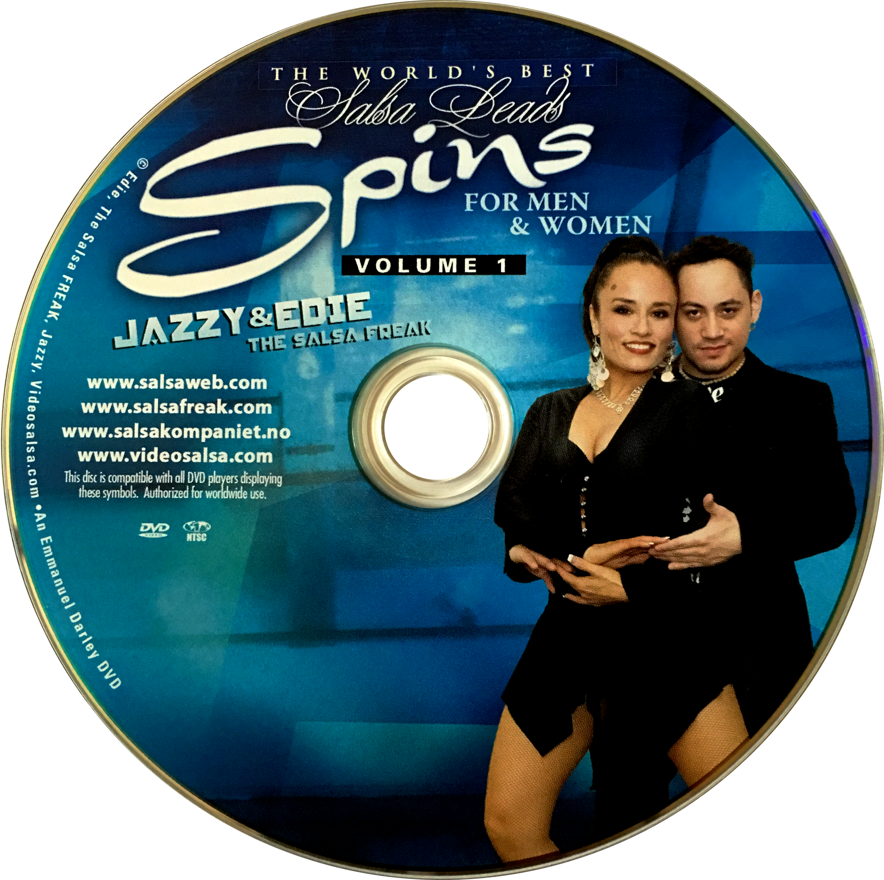 Spins for Men and Women with Jazzy of Norway Instructional DVD