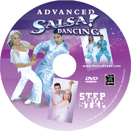 Advanced Hip Hop Fusion Salsa Instructional DVD