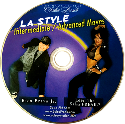 Rico Bravo Jr. LA Style Intermediate/Advanced Moves Instructional DVD