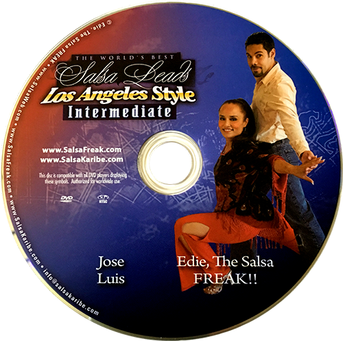 Intermediate LA Style Leading Techniques and Secrets with Jose Luis Instructional DVD