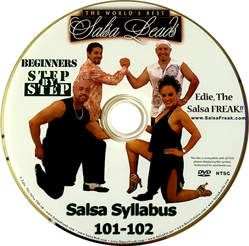 Beginners Nightclub Style Salsa Freak Syllabus Volume 1 Instructional DVD