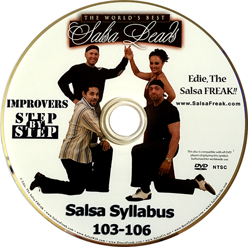 Intermediate Nightclub Style Salsa Freak Syllabus Volume 2 Instructional DVD