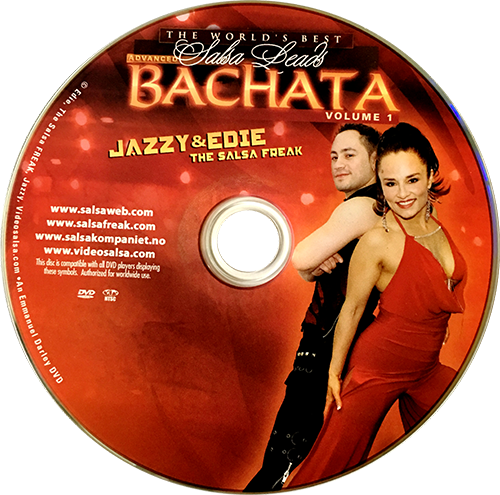 Advanced Bachata with Jazzy of Norway Instructional DVD