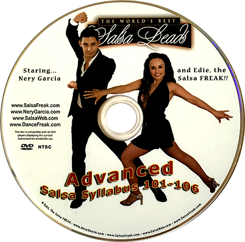 Nightclub Style Salsa Freak Advanced Syllabus with Nery Garcia Instructional DVD