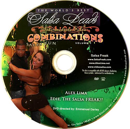 Advanced Salsa Fun Turn Patterns Instructional DVD