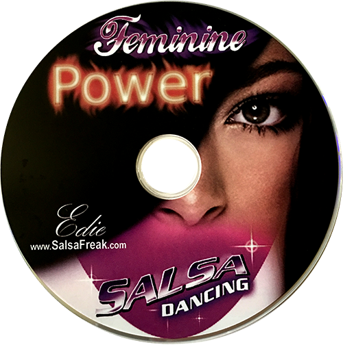 Feminine Power Workshop by Edie the Salsa Freak, Instructional DVD
