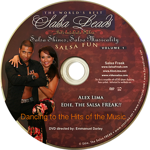Intermediate/Advanced Salsa Floor Shines Instructional DVD