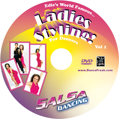 Beginner to Advanced Salsa Ladies Styling Volume 1 Instructional DVD