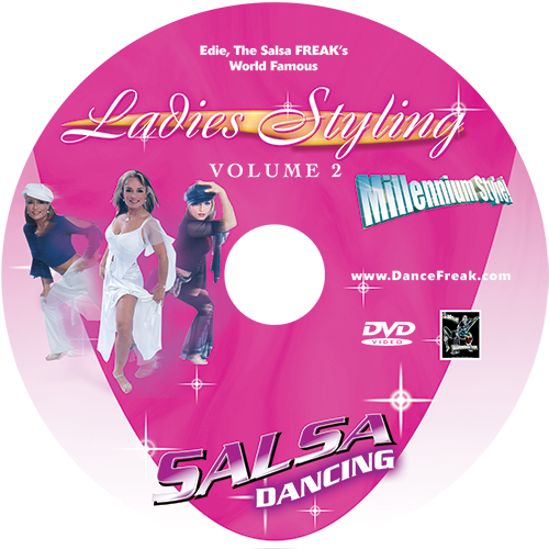 Beginner to Advanced Salsa Ladies Styling Volume 2 Instructional DVD