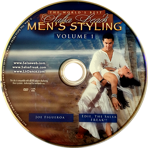 Men's Salsa Styling with Joe Figueroa Instructional DVD