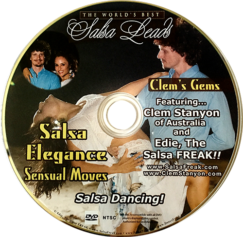 Advanced Salsa Elegance Instructional DVD