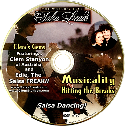 Advanced Salsa Musicality Instructional DVD