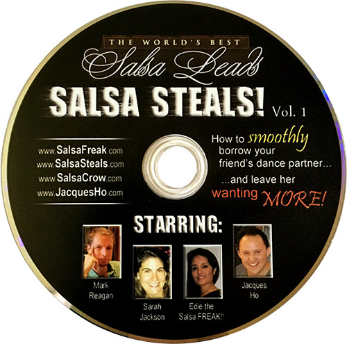 "DVD 57 – ""Salsa Steals"" Vol. 1 – How to SMOOTHLY Borrow Your Friend's Dance Partner"