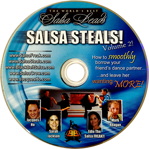 Salsa Steals Volume 2 Instructional DVD