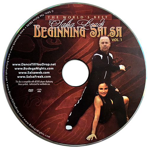 Beginning Salsa Volume 1 with Fintan McDermott Instructional DVD