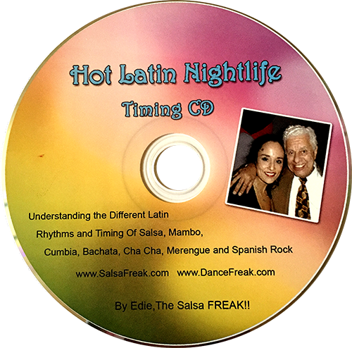 CD 7 – Beginning AUDIO CD-Latin Rhythms Audio Timing CD