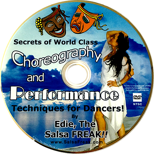 Secrets of World-Class Performance and Choreography Instructional DVD