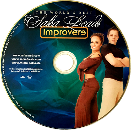 Improvers Salsa with Mimo of Germany Instructional DVD