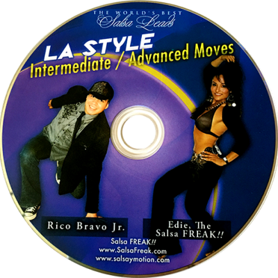 Rico Bravo Jr. LA Style Intermediate/Advanced Salsa Moves