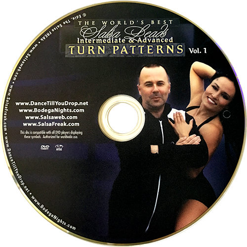 Intermediate/Advanced Turn Patterns with Fintan McDermott Instructional DVD