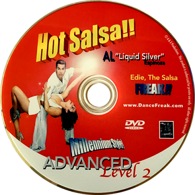 Advanced Level 2 Salsa with Al Espinoza DVD