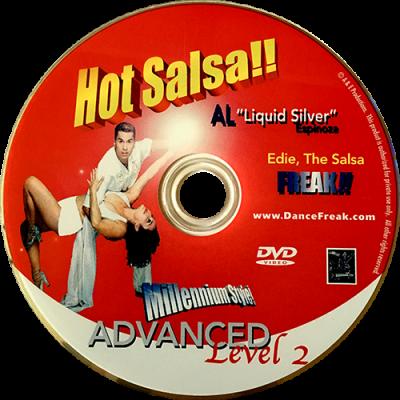 Advanced Level 2 Salsa with Al Espinoza DVD