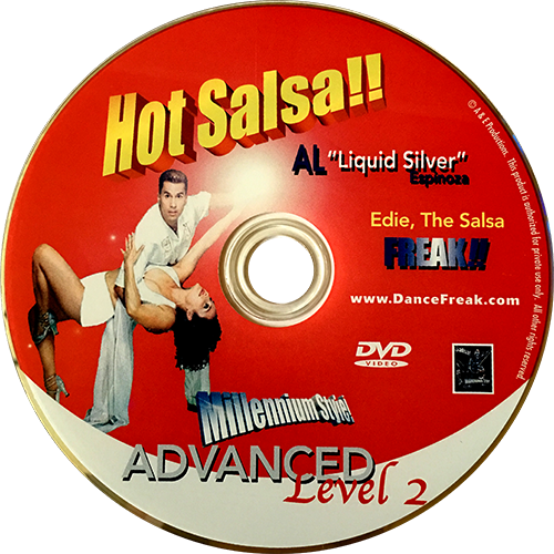 Hot Salsa Advanced Level 2 Instructional DVD