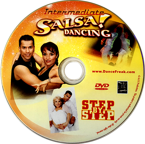 Intermediate Salsa Dancing Level 1 Instructional DVD