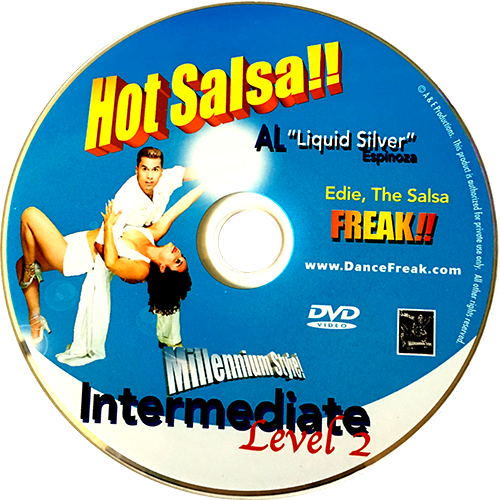 Hot Salsa Intermediate Level 2 Instructional DVD