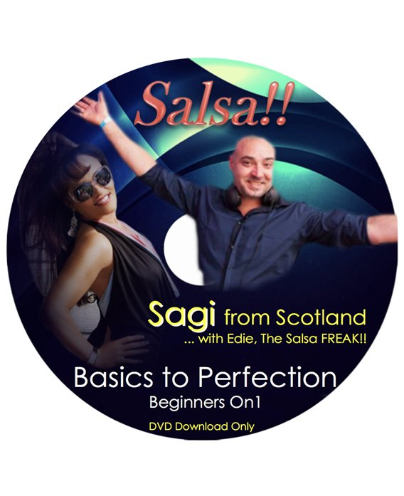Salsa for Beginners with Sagi of Scotland DVD