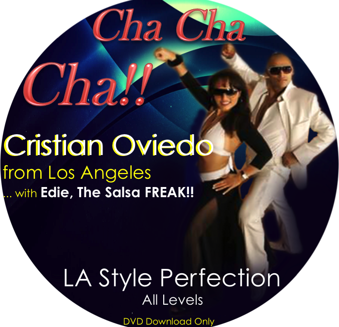 Intermediate/Advanced Cha Cha with Cristian Oviedo of the USA